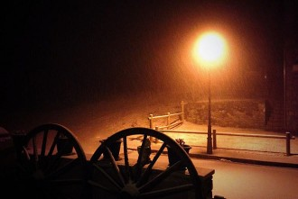 Nit de neu i pluja