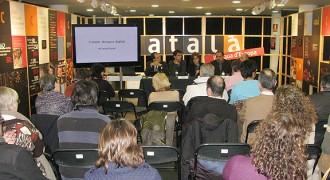 Més de 600 persones visiten la mostra «El català llengua d'Europa»