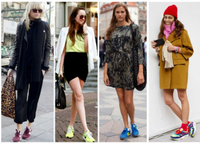 moda con new balance mujer