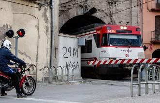 Una vaga eliminarà el 25% dels trens dijous i divendres
