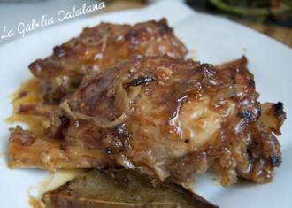 Braó de porc al vermut blanc