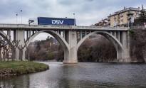 El pont de Sant Quirze queda tallat durant sis mesos