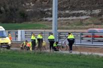 Mor un ciclista a la vorera de la C-17, a Malla