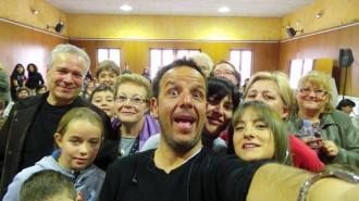 El «selfie» «optimista» a Campdevànol