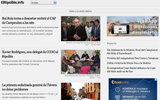 ElRipollès.info estrena una nova versió específica per a «tablets»