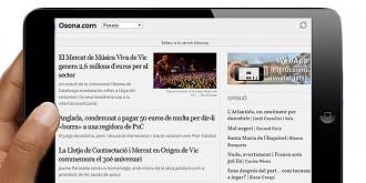 Osona.com estrena una versió específica per a «tablets»
