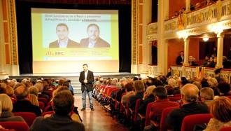Pitarch encapçalarà una llista amb gent d'ERC, de Solidaritat i independents