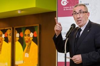 Jaume Parareda, a la comissió de la Catalunya Central del 9-N