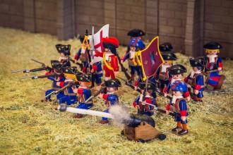 Vés a: Després del setge del 1714 arriba la batalla de Waterloo en Playmobil