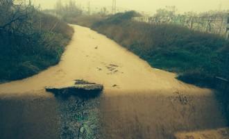 I després de la llevantada pluja amb fang