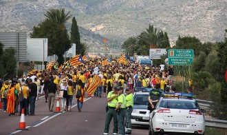 Les Corts Valencianes condemnen l'entrada de la Via Catalana a Vinaròs