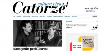 El magazín Catorze.cat neix per defensar i projectar la cultura