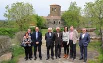 Mascarell reivindica a Sant Pere de Casserres la conservació del patrimoni històric