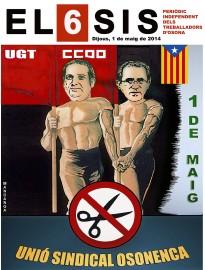 Cesc Poch i Miquel Sánchez, protagonistes del Primer de Maig