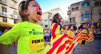 El recompte unionista xifra en 800.000 els participants a la Via Catalana