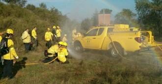 L'ADF Alt Berguedà rep el premi Palestra per prevenció d'incendis