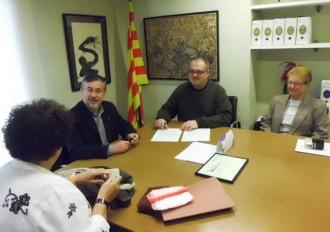 Sant Celoni signa dos nous contractes de Lloguer Segur