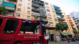 Un veí es converteix en heroi apagant un incendi a Reus