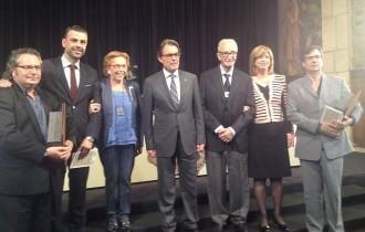 Dues personalitats i dues entitats de Girona reben la Creu de Sant Jordi
