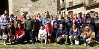 El Centre de Formació d'Adults visita el Nucli Antic i la Catedral