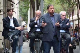 Junqueras presenta la lista d'ERC com «la més oberta» de la història