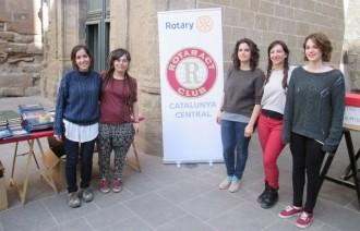 Rotaract recull donatius pel Banc d'Aliments de Solsona