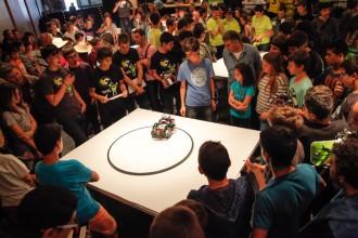 Centenars de joves vindran a Olot atrets per la robòtica