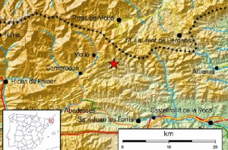 Petit sisme de 2,9 a Rocabruna