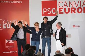 El PSC celebra la Festa de la Rosa a Montmeló