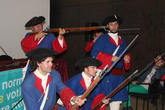 Els Miquelets porten a Solsona el record de la Guerra de Successió