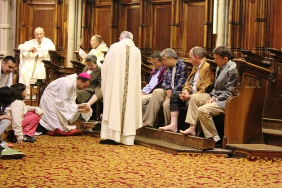 El bisbe de Solsona presidí la Missa de la Cena del Senyor