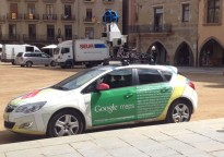 El cotxe de Google Maps rastreja els carrers de Vic
