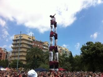 Els Xics de Granollers actuen a Barberà a la recerca de la torre de vuit