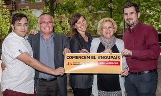 ERC i NECat estrenen coalició a Osona amb motiu de les eleccions europees