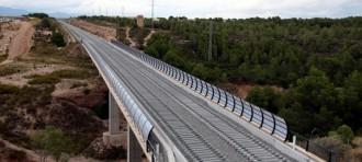 Les infraestructures ferroviàries s'enduen un 70% de la inversió estatal