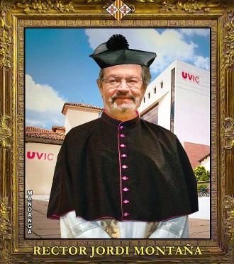 El rector Montaña, a la galeria de vigatans il·lustres