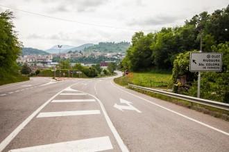 Territori arreglarà set carreteres garrotxines al llarg del 2015