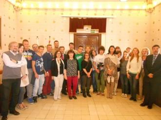 Visita a l'ajuntament de la Seu dels socis del Piamonte del programa Comenius Regio