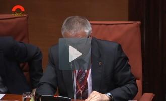 Pere Prat valora al Parlament el Projecte de llei de governs locals de Catalunya