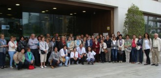 El Centre de Formació de Persones Adultes visita Barcelona i el Banc de Sang