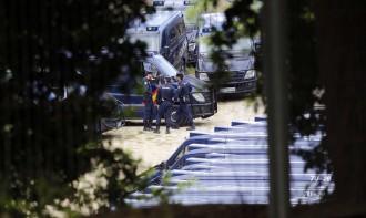 Alarma per la nombrosa arribada de furgonetes del CNP a Catalunya