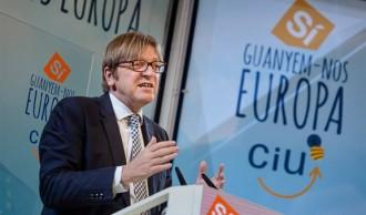 Verhofstadt s'obre a acollir C's i UPyD al l'eurogrup liberal