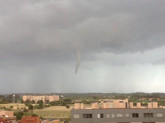 Un petit tornado a Valls