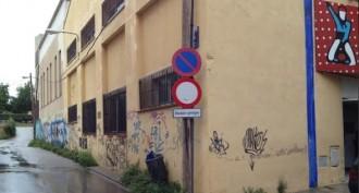 Els Castellers de Terrassa ataquen l'Ajuntament