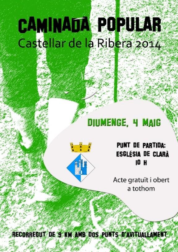Castellar de la Ribera es prepara per la caminada popular
