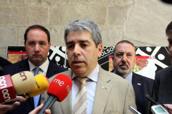 Homs acusa el govern espanyol de voler «limitar la llibertat d'expressió»