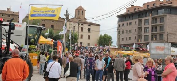 La pluja tanca tres dies intensos d'activitats i comerç a la Fira de Sant Isidre