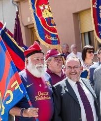 Les penyes barcelonistes d'Osona i el Ripollès es troben a Roda de Ter
