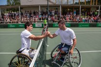Gustavo Fernández guanya l'Open Memorial Santi Silvas de tennis adaptat