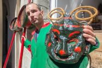 L'exposició de la Patum arriba a la IV Fira del Món del Foc de Banyoles